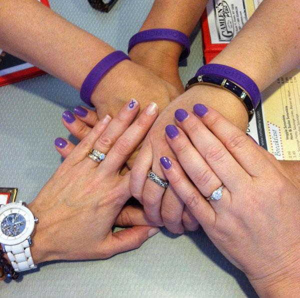 No One Fights Alone Bracelets